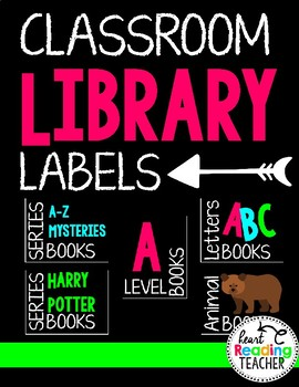 Library Labels for the Classroom