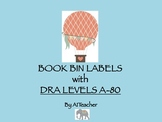 Library Labels with DRA Levels Balloon Theme