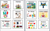 Library Labels with Pictures