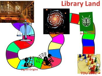 Library Land Boardgame Computer Lab Activity