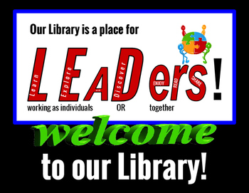 Library Leaders Infographics & Signs