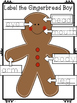 Library Lesson: Label Gingerbread Girl  & Boy