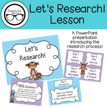 Library Lesson: Let's Research!