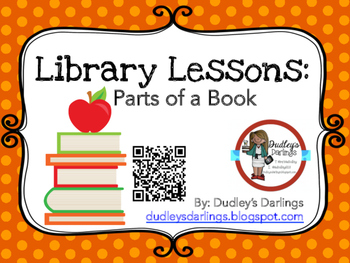 Library Lesson: Parts of a Book