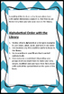Library Lesson Plan #4 Elementary School Alphabetical Order in the Library