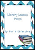 Library Lesson Plan Elementary School Fiction vs. Non-fiction