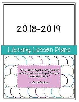 Library Lesson Planner 2018-2019 -