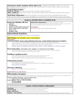 NoSweat Library Lesson Planner