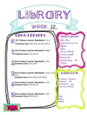 Library Lesson Plans K-5 Week 12