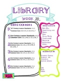 Library Lesson Plans K-5 Week 20