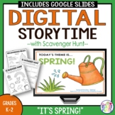 Library Lesson -- Spring Storytime