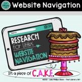 Website Navigation - Research for Littles