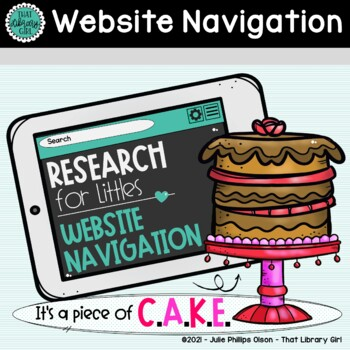 Website Navigation - Computer Skills Library Lesson - Research K-2