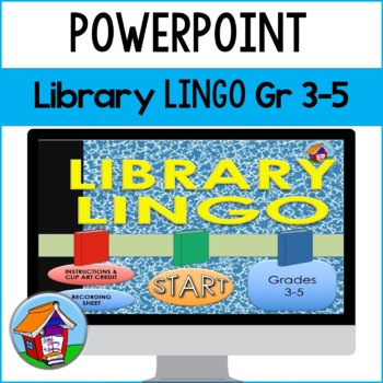 Library Lingo PowerPoint Game Gr 3-5