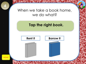 Library Lingo PowerPoint Game Gr K-2