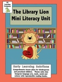 Library Lion Literacy Unit