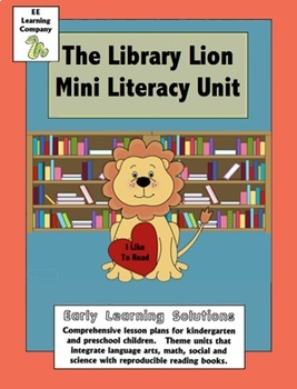 Library Lion Literacy Unit
