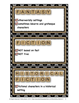 Library Literature Labels