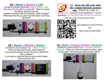 Library Makerspace littleBits™ Task Cards