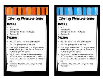 Library Manners Game