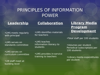 Library Media Center PowerPoint