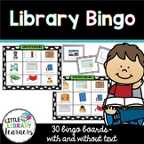 Library Bingo Game Pack - with and without text