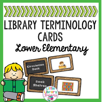 Library Definition Matching Cards- Lower Elementary