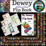 Library Media Dewey Decimal Interactive Flip Book Pop Art
