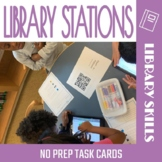 Library Media Stations: Task Cards and Posters