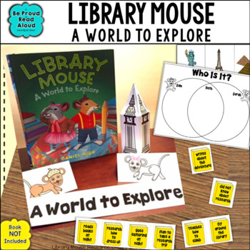 Library Mouse: A World to Explore...Book Unit for Research, Writing and More