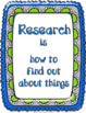 Library Mouse: A World to Explore...Book Unit for Research