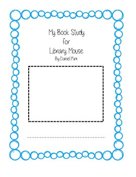 Library Mouse- read Aloud Activities