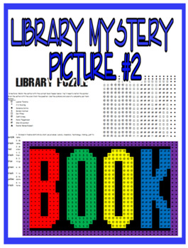 Library Mystery Picture With Author & Book Question Matching #2
