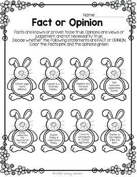 Library No Prep Printables- Easter Themed