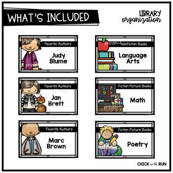 Library Organization {MEGA BUNDLE}
