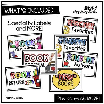 Library Organization {BUNDLE}