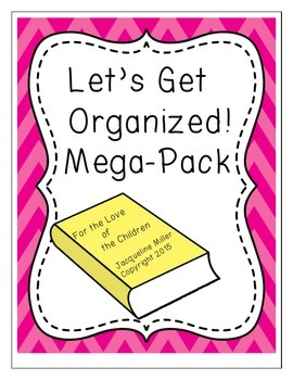Library Organization Mega-Pack