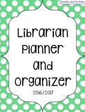 Library Organization Notebook / Lesson Planner