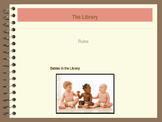 Library Orientation:  Babies in the Library PowerPoint