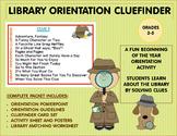 Library Orientation Cluefinder
