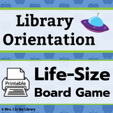 """Library Orientation Game: """"Blast Off with Reading!"""" Theme"""