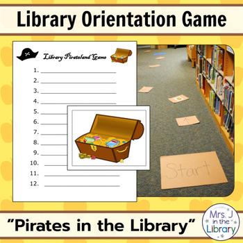 Library Orientation Game: Pirates Theme