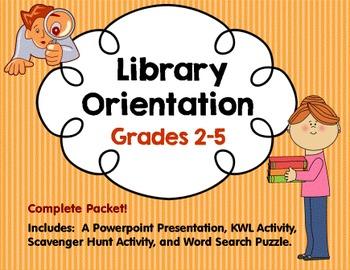 Library Orientation Grades 2-5