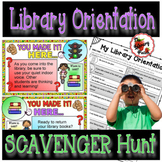 Library Orientation Scavenger Hunt