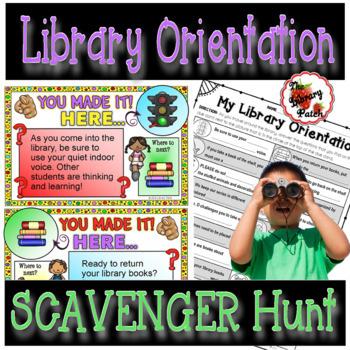 Library Orientation Scavenger Hunt