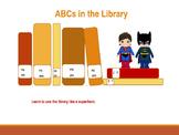 Library Orientation:  Super Hero Training Academy PowerPoint