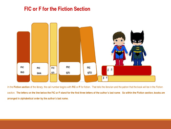 Library Orientation:  Super Hero Training Academy PowerPoint