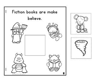 Library Orientation and Rules - Mini Books and Printables