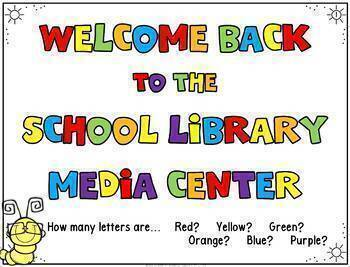 Library Skills: Orientation for Primary Grades: Powerpoint for the Media Center