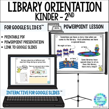 Library Orientation for Primary Grades: Powerpoint for the Media Center